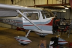 The Cessna in annual