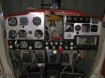 Instrument panel modification in progress