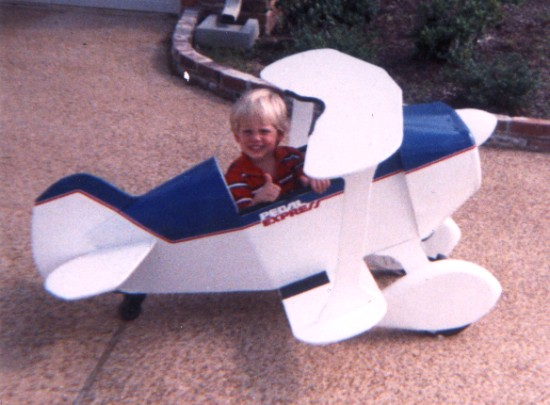 Family's first homebuilt
